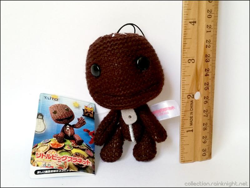 Littlebigplanet Mini Knit Sackboy Mascot Normal Sackboy