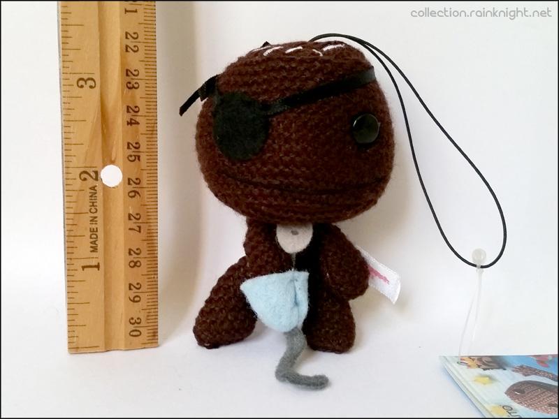 Littlebigplanet Mini Knit Sackboy Mascot Pirate Sackboy